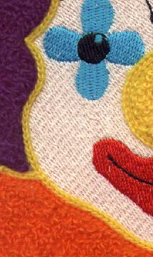Clown Detail