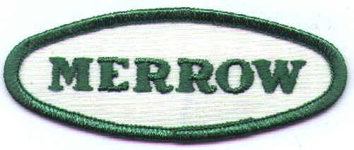 merrow emblem  u00bb c h  holderby co  industrial sewing machines