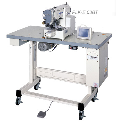Mitsubishi PLK-E03BT Programmable Bartacking and Pattern Tacking Machine