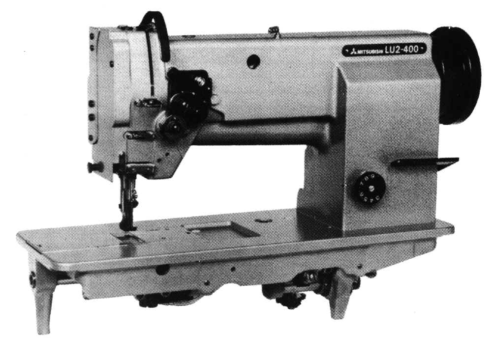 types of industrial sewing machine